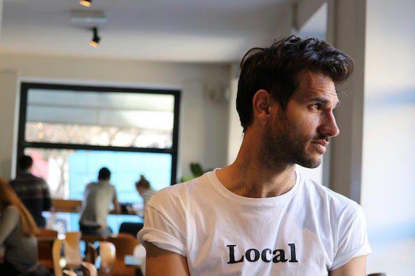 El escritor Juan Arcones.