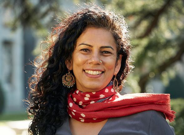 La arquitecta Anupama Kundoo. Foto: Juan Rayos.