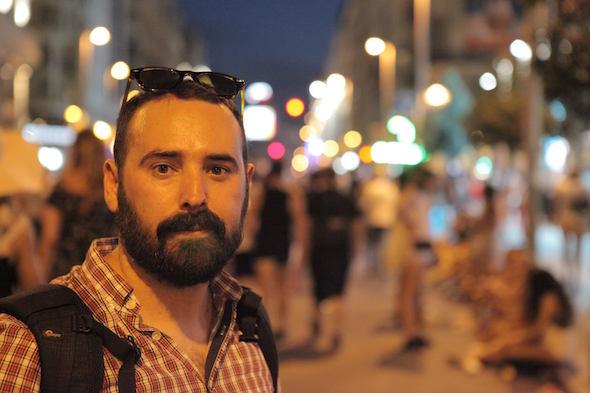 El director de 'Marisa en los montes', Antonio Morales.