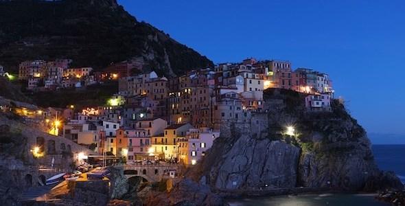 El pueblito de Manarola en la costa italiana. Foto: Pixabay.