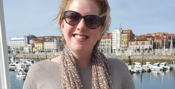 La escritora Clare Macintosh.