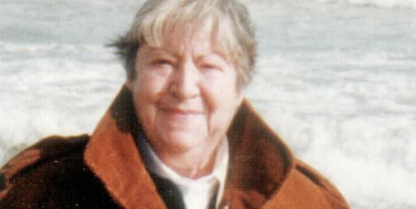 La poeta Gloria Fuertes.