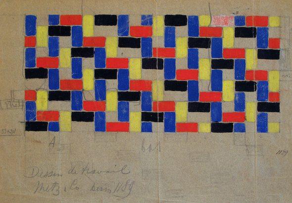 Sonia Delaunay Diseño de trabajo