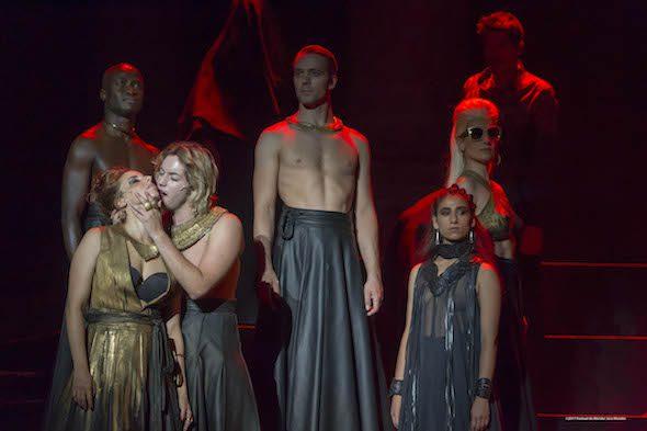Un momento de la representación de Séneca en el Festival de Mérida. Foto/ Jero Morales