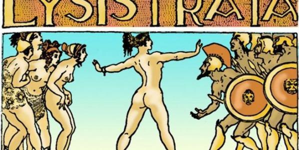 Ilustración de Lisistrata.