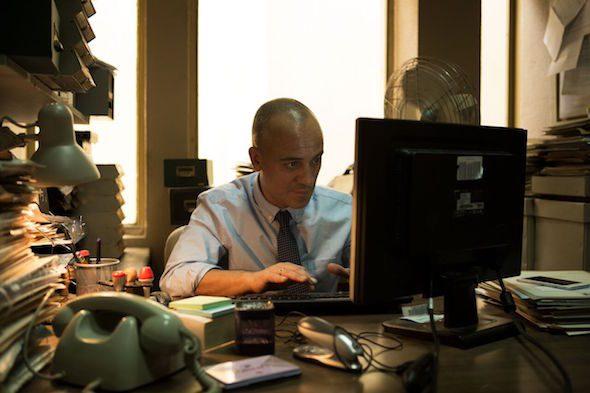 El actor Javier Gutiérrez protagoniza El autor de Martín Cuenca.