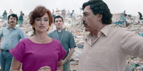 Penélope Cruz y Javier Bardem son amantes en Loving Pablo la última película de Fernando León de Aranoa.