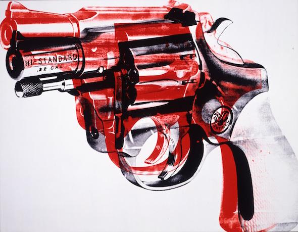Revólver de Andy Warhol.