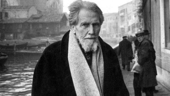 El poeta Ezra Pound.