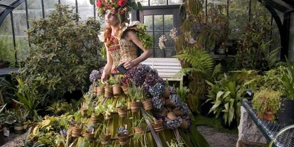 Nicole Dextras Mobile Garden Dress, 2011 Fotografía: Nicole Dextras Cortesía de la artista