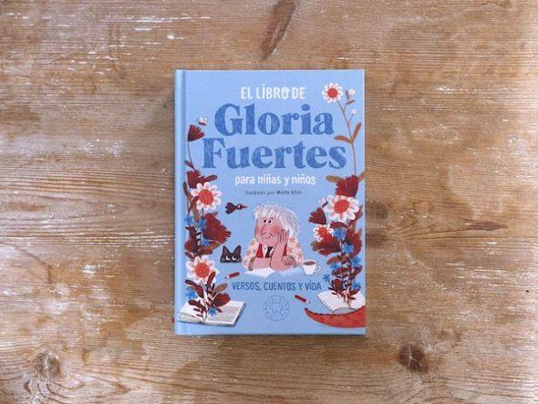 El libro de Gloria Fuertes para niños y niñas.