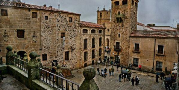 Casco histórico de Cáceres. Foto: Iñaki Queralt / Flickr Creative Commons.