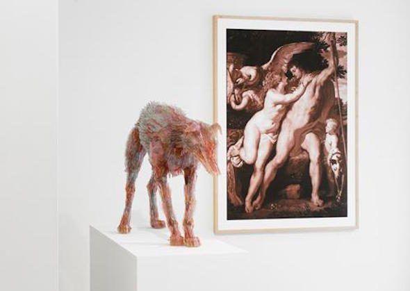 El perro del cuadro Venus y Adonis de Paul Rubens.