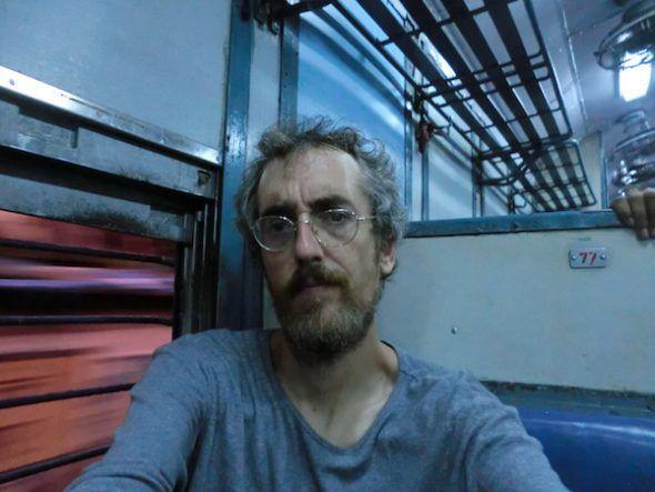 El escritor Sergi Puertas.
