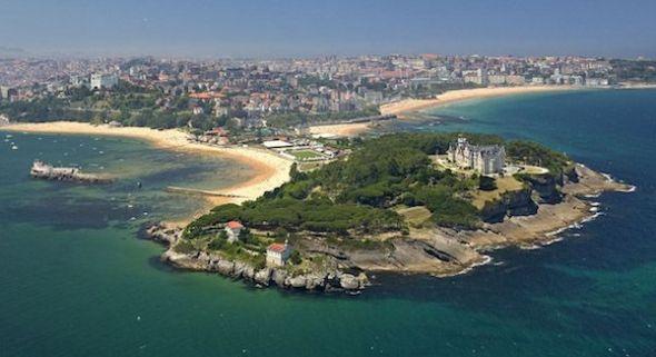 La ciudad de Santander.