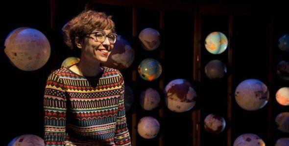 La dramaturga Lucía Miranda.