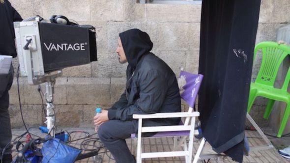 El director Tarik Saleh en el rodaje de ' El Cairo confidencial '