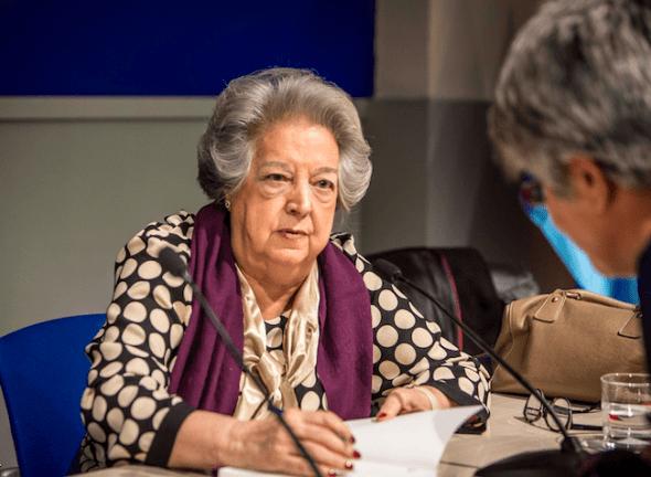 Ana María Pérez del Campo Noriega, protagonista del libro 'La mujer que dijo basta'.