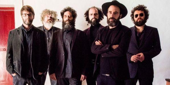Los integrantes del grupo Egon Soda.