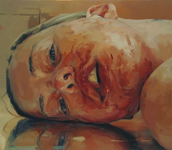 Jenny Saville. 'Reverse' 2002-3 © Jenny Saville. Cortesía de la artista y Gagosian.