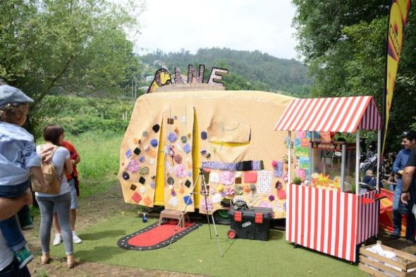 Una de las salas de Festival de Cans.