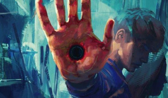 Detalle de la portada de 'Cero' de Kathe Koja editado por La Biblioteca de Carfax.