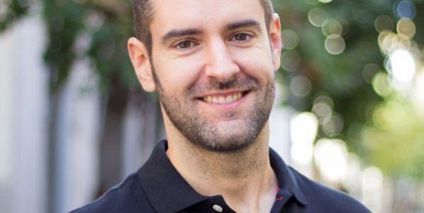 El escritor Alejandro Melero.