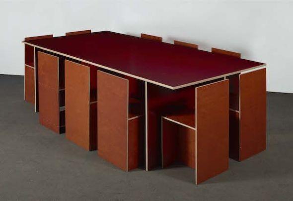 Donald Judd. Sin título. 1993. Foto: Cortesía del artista y Centro de Artes Visuales Fundación Helga de Alvear Cáceres.