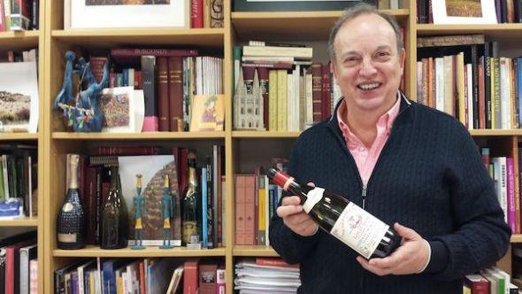 El enólogo Paco Berciano.