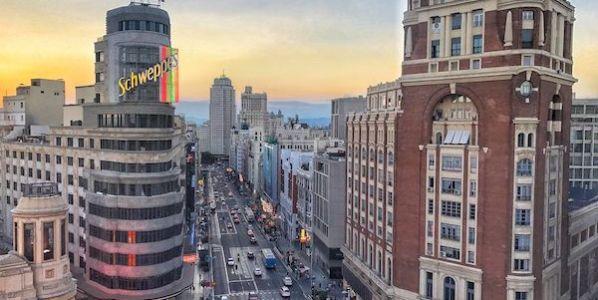 Una imagen del centro de Madrid. Foto: Manuel Cuéllar.