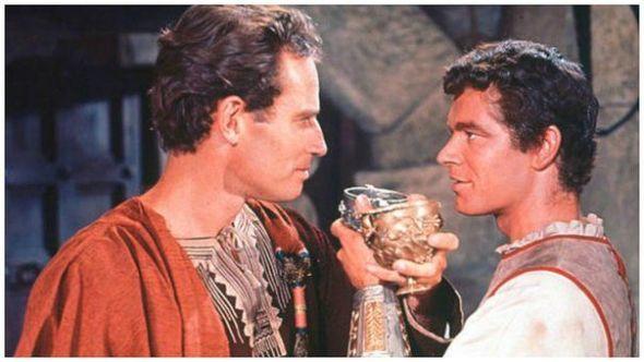 Una escena de Ben Hur.