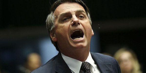 El candidato ultraderechista a la presidencia de Brasil Jair Bolsonaro (Foto: Marcelo Camargo / Agencia Brasil)