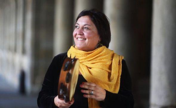 La compositora Uxia. Foto: Miguel Muñiz.