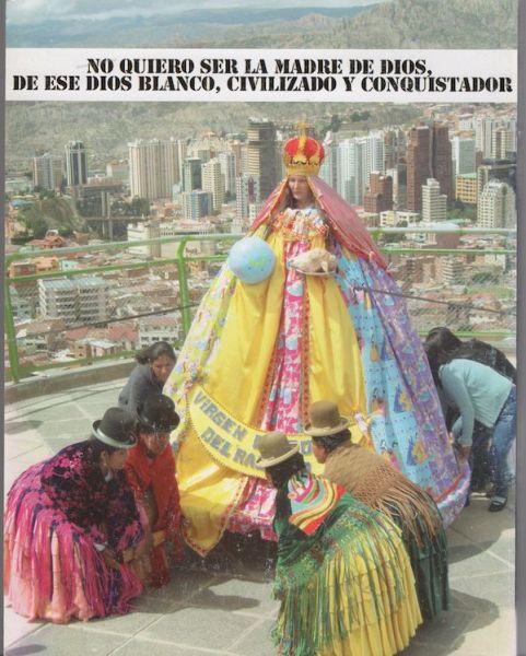 Mujeres Creando. 'La Virgen Barbie', 2010. Cortesía de Mujeres Creando.