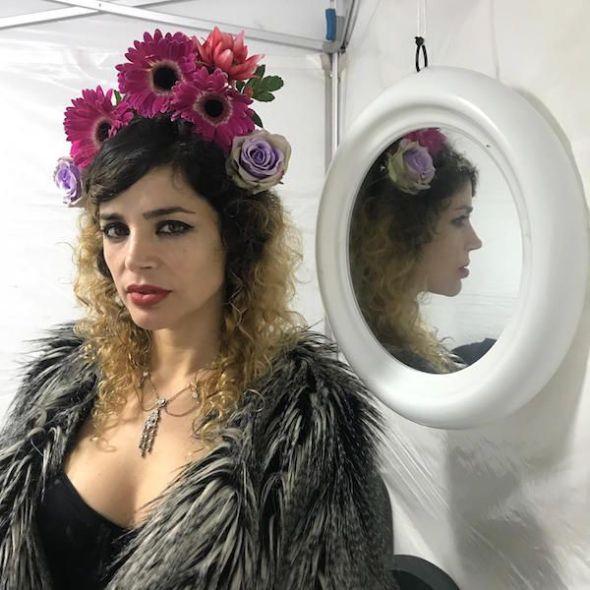 La cantautora Sol Escobar. Foto: B. G.
