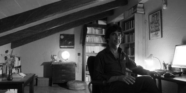 El escritor Rafael Espejo. Foto: Cristina Sánchez.
