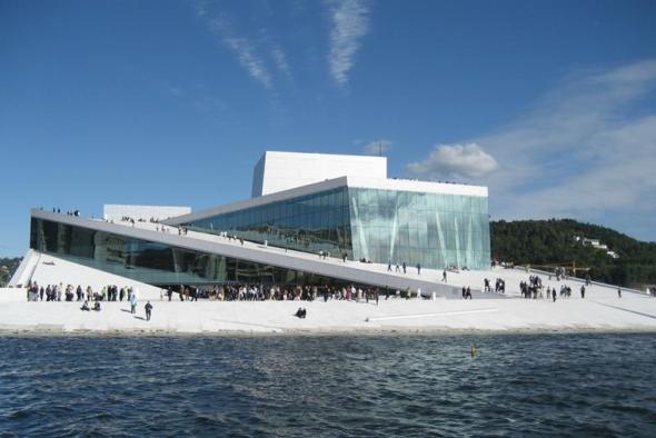 Edificio de la Ópera de Oslo. Foto: VIsitOslo.