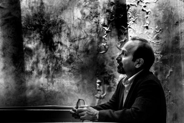 Asghar Farhadi, director de 'Todos lo saben', película por la que está nominada Penélope Cruz. Foto: Victoria Iglesias.