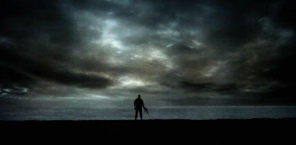 La soledad de Idomeneo el padre y rey ante el drama de tener que matar a su propio hijo. Foto: Javier del Real.