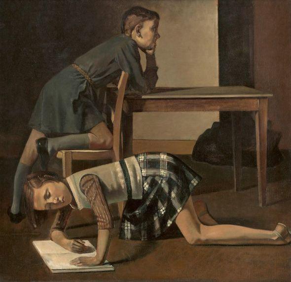 (Les Enfants Blanchard). Musée National Picasso. Donación de los herederos de Pablo Picasso. 1973/1978, París.