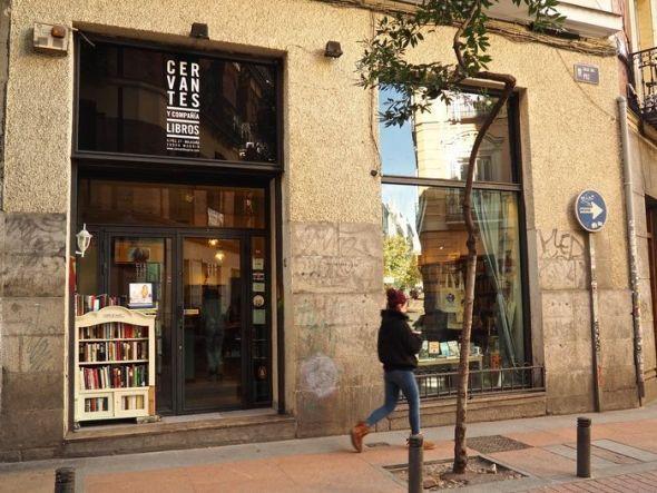 Cervantes y compañía, libros.