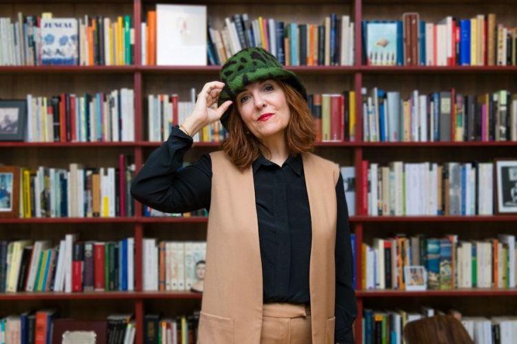 La escritora Elvira Lindo. Foto: Fernando Mateos.