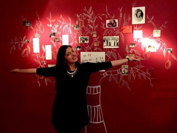 La artista y escritora Karishma Chugani Nankani.