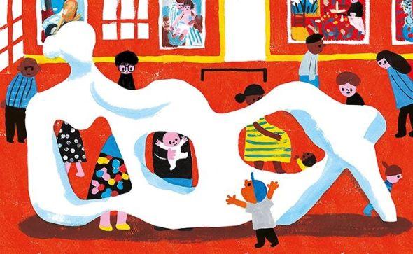 Una ilustración del libro Mi museo deJoanne Liu.