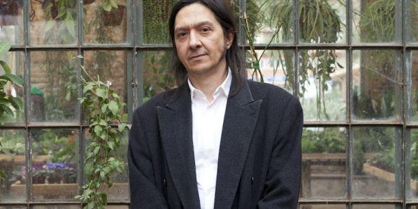 El escritor Santiago Lorenzo. Foto: Cecilia Díaz Betz.