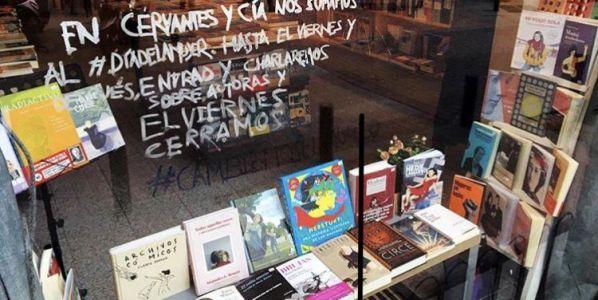Una imagen de la librería Cervantes y compañía en Madrid.