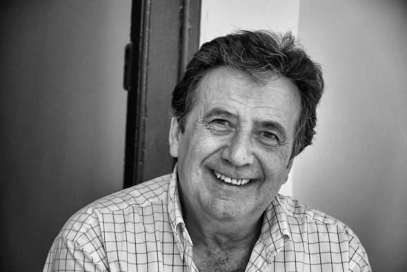 El escritor Luis Landero. Foto: © María Antonia Landero.