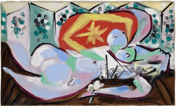Pablo Picasso (1881–1973); Nu couché; 1934. Depósito permanente en el Kunstmuseum Basel. Foto: Mark Gisler.