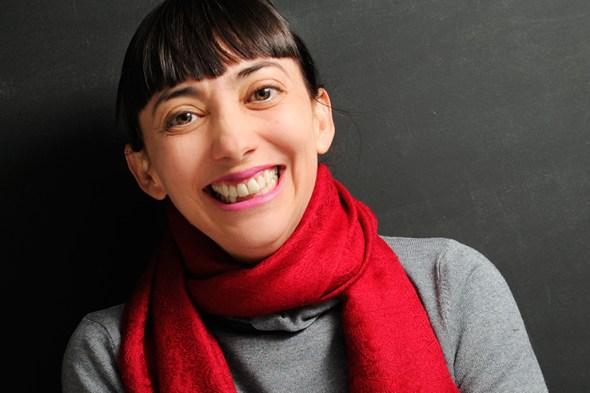 La escritora Lola Larra. Foto: Roberto Villalón.