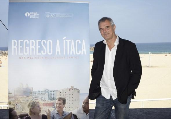 El director de cine Laurent Cantet durante el pasado Festival de Cine de San Sebastián.